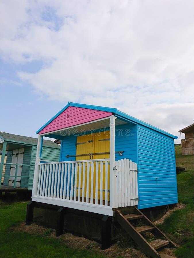 Choza tropical de la playa foto de archivo libre de regalías