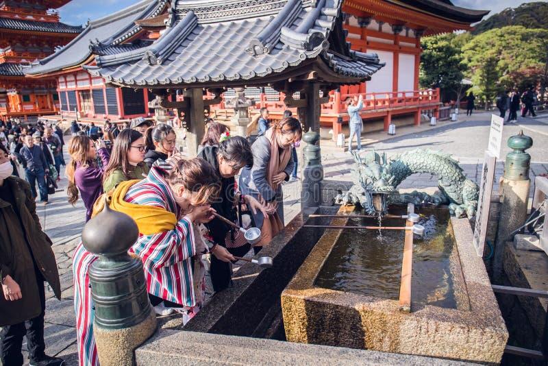 Chozuya foto de archivo libre de regalías