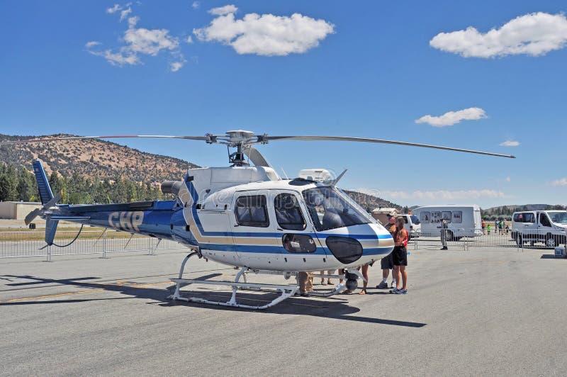 CHP Luchtbushelikopter royalty-vrije stock foto's