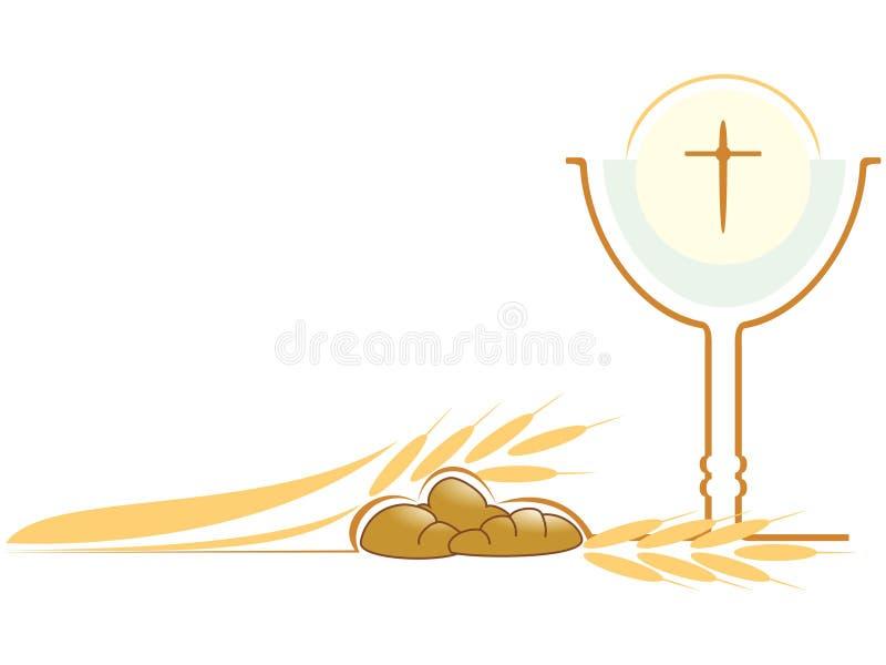 Chrétien de symbole illustration stock