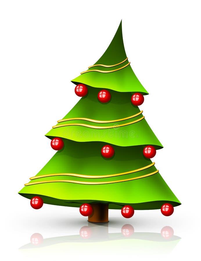 Download Chrestmas tree stock illustration. Illustration of decoration - 11865020
