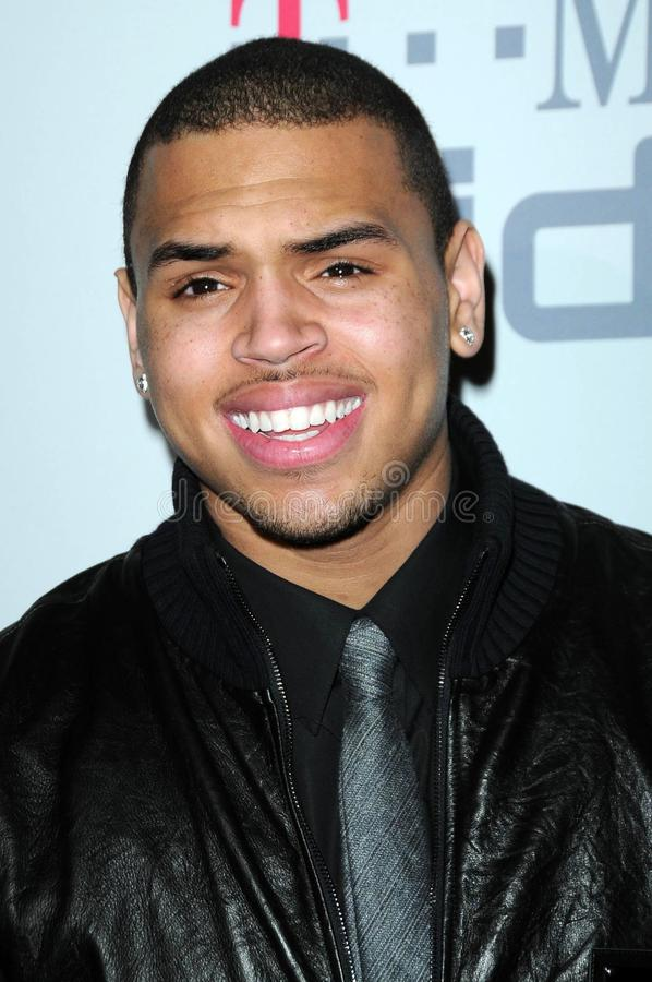 Chris Brown photos stock