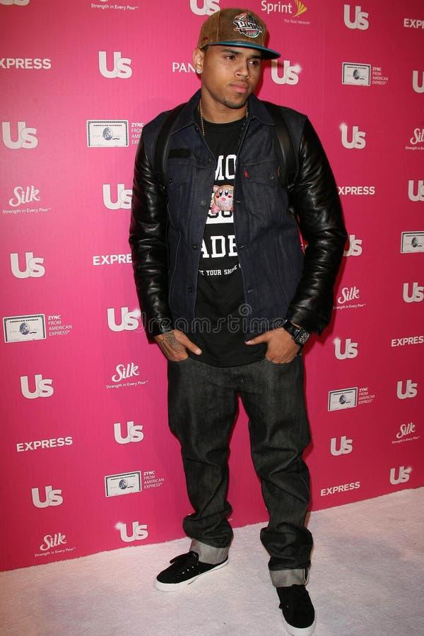 Chris Brown images libres de droits