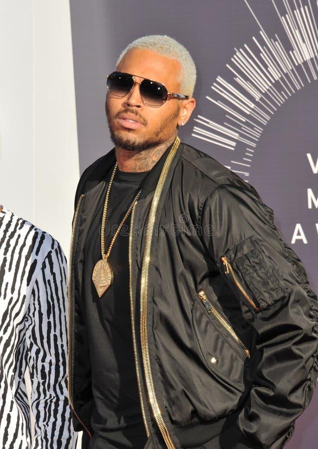 Chris Brown image libre de droits