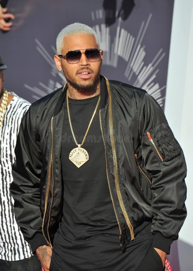 Chris Brown imagens de stock