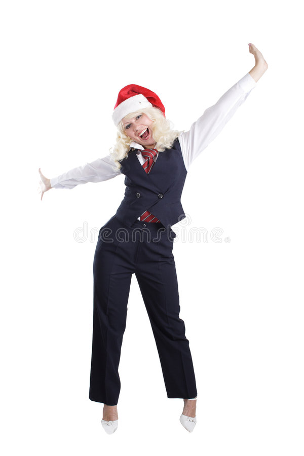 Chris businesswoman royalty free stock photography