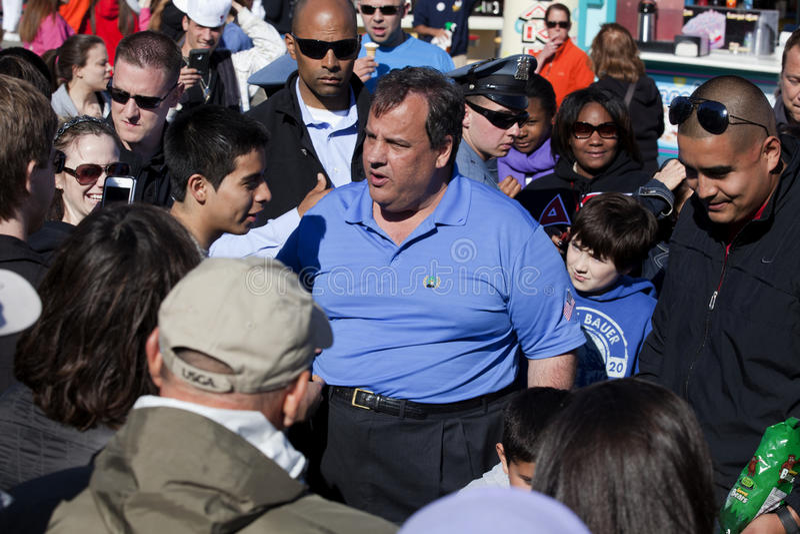 Chris Christie, gobernador de New Jersey imagen de archivo libre de regalías