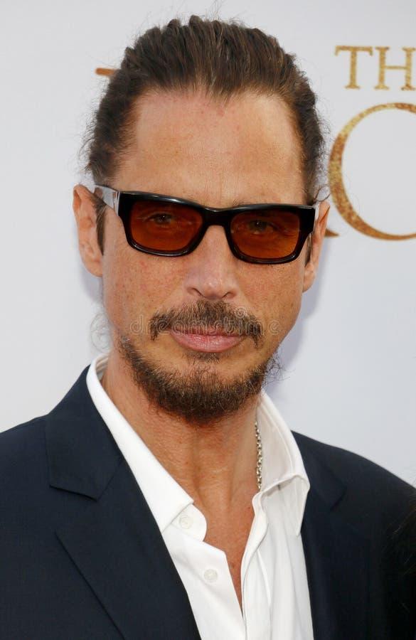Chris Cornell royalty-vrije stock foto's