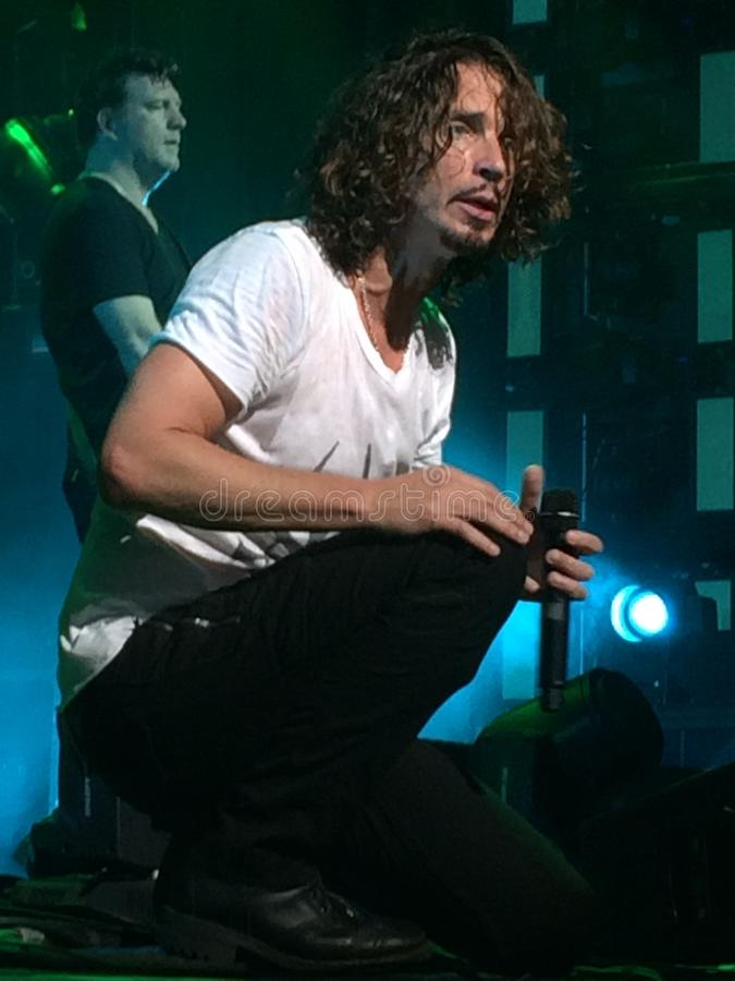 Chris Cornell av Soundgarden arkivfoto