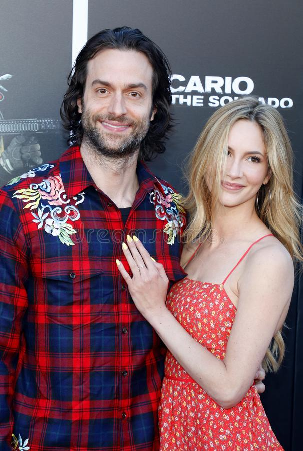 Chris D`Elia. At the Los Angeles premiere of `Sicario: Day Of The Soldado` held at the Regency Village Theatre in Westwood, USA on June 26, 2018 royalty free stock photo