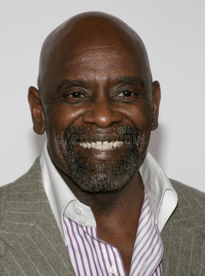 Chris Gardner. At the Los Angeles premiere of `The Pursuit of Happyness` held at the Mann Village Theatre in Westwood, California United States on December 7 stock images