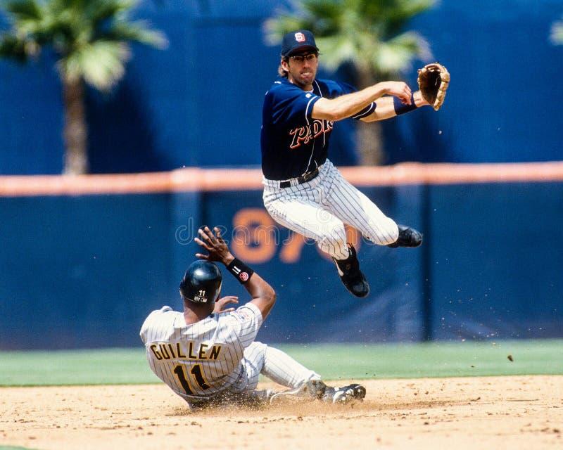 Chris Gomez San Diego Padres stock foto's