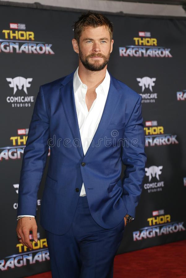 Chris Hemsworth fotos de stock royalty free