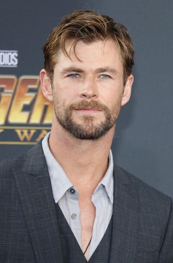 Chris Hemsworth stock foto's