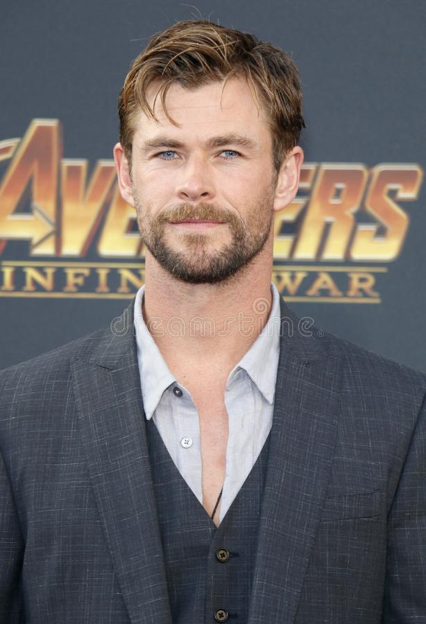 Chris Hemsworth stock foto's