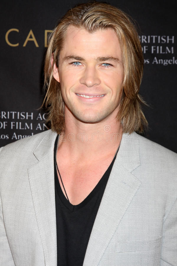 Chris Hemsworth Editorial Stock Photo
