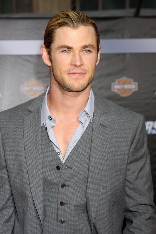Chris Hemsworth immagini stock libere da diritti