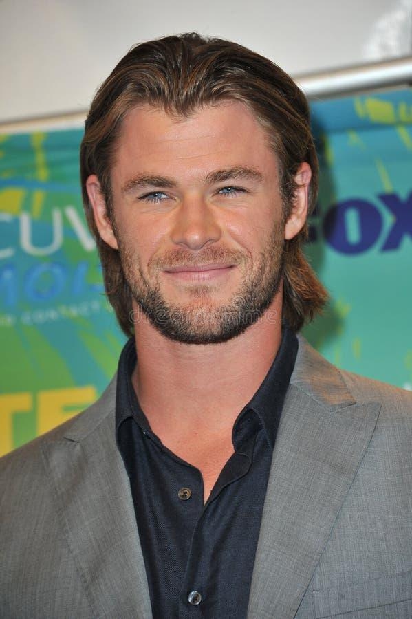 Chris Hemsworth foto de archivo libre de regalías