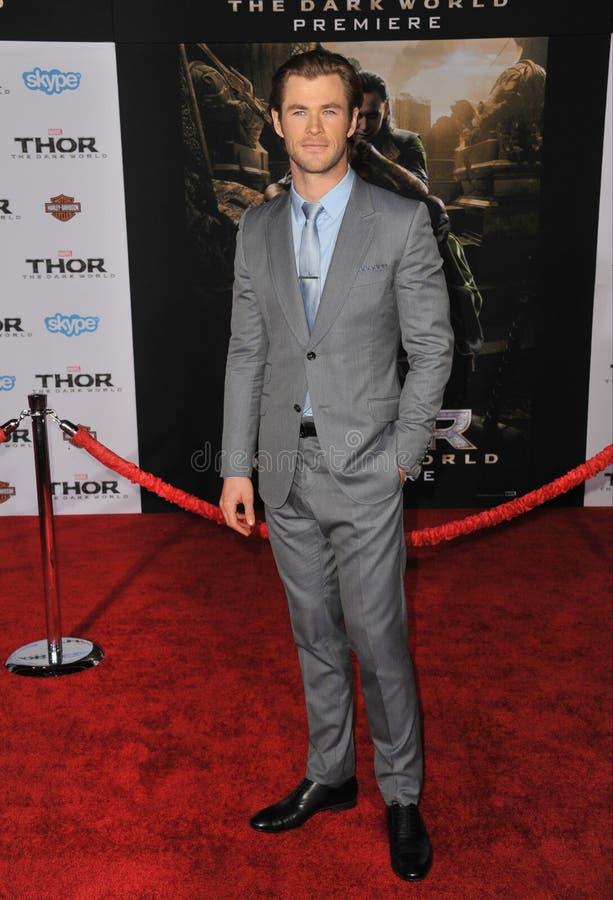 Chris Hemsworth foto de stock royalty free