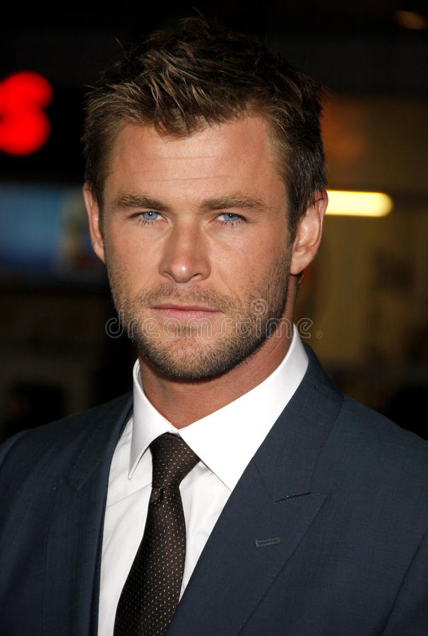 Chris Hemsworth royalty-vrije stock foto's