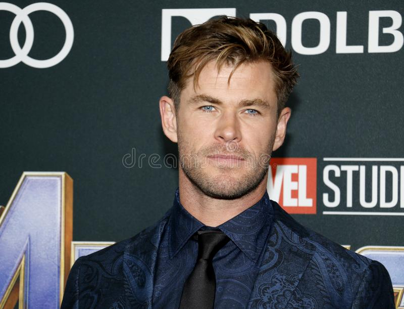 Chris Hemsworth stock foto