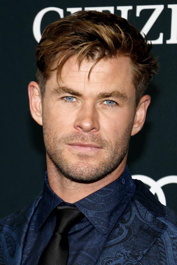 Chris Hemsworth stock fotografie