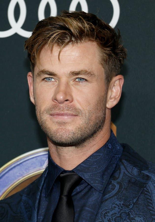 Chris Hemsworth royalty-vrije stock afbeeldingen