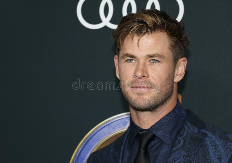 Chris Hemsworth royalty-vrije stock afbeelding