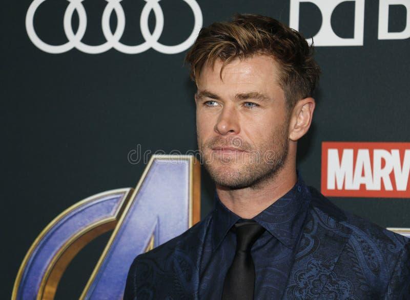 Chris Hemsworth royalty-vrije stock fotografie