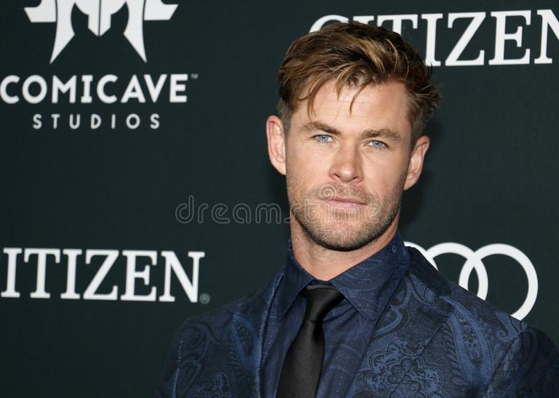 Chris Hemsworth stock foto