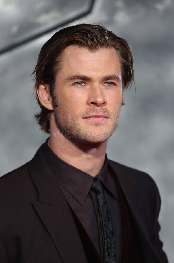Chris Hemsworth, a escuridão fotos de stock royalty free