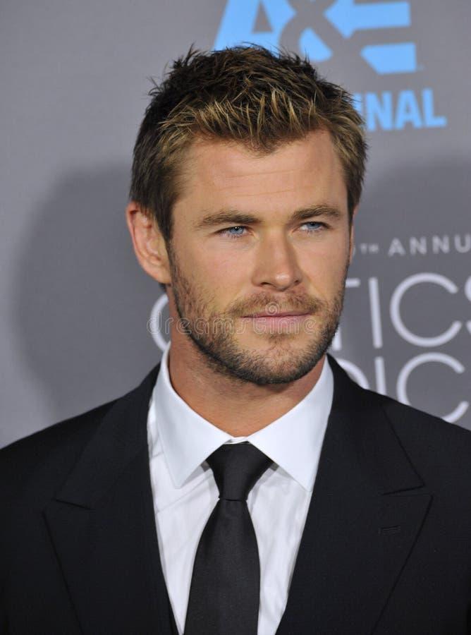 Chris Hemsworth stock images