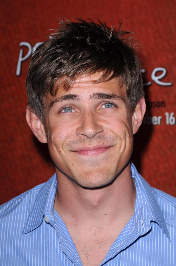 Chris Lowell foto de stock