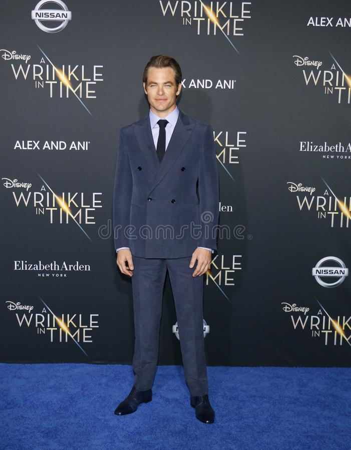 Chris Pine images stock