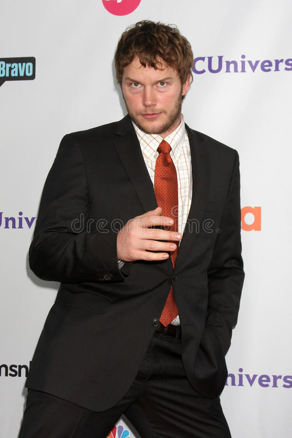 Chris Pratt imagem de stock royalty free