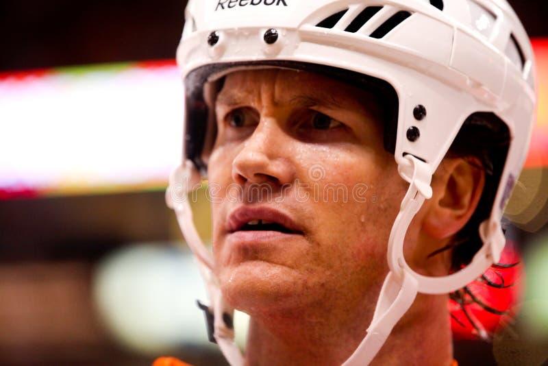 Chris Pronger Philadelphia Flyers. Philadelphia Flyers captain Chris Pronger #20 stock images