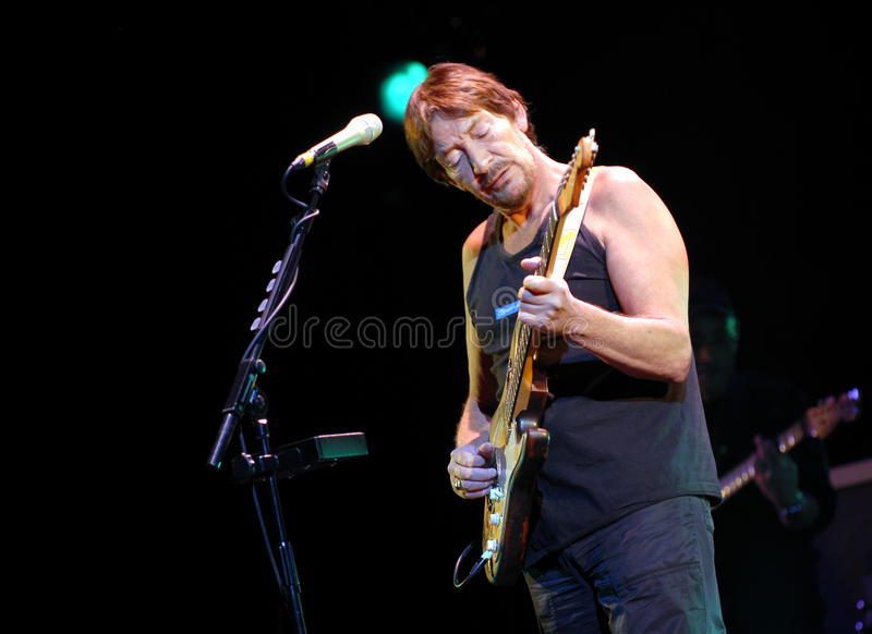 Chris Rea royaltyfri fotografi
