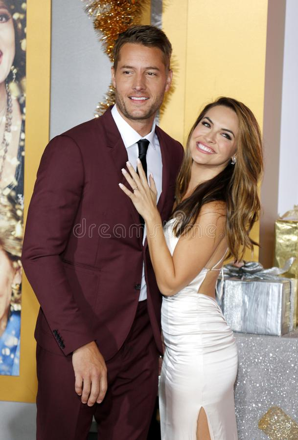 Chrishell Stause et Justin Hartley photographie stock