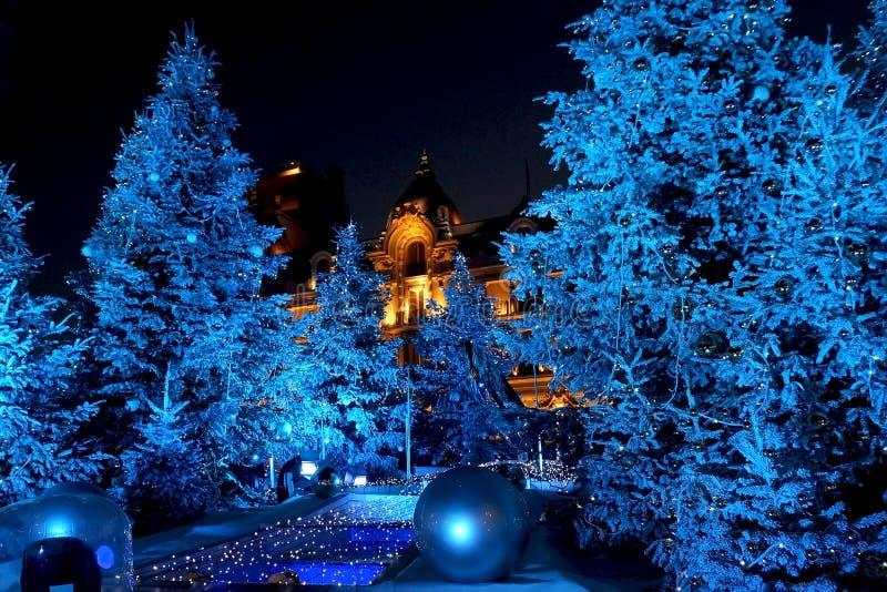 Chrismas à Monte Carlo photos stock