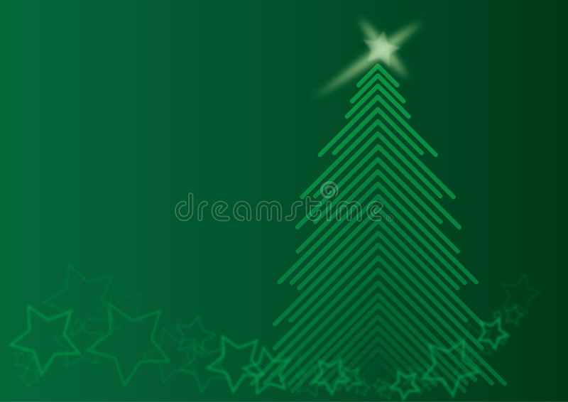 chrismas zielenieją drzewa zdjęcie stock