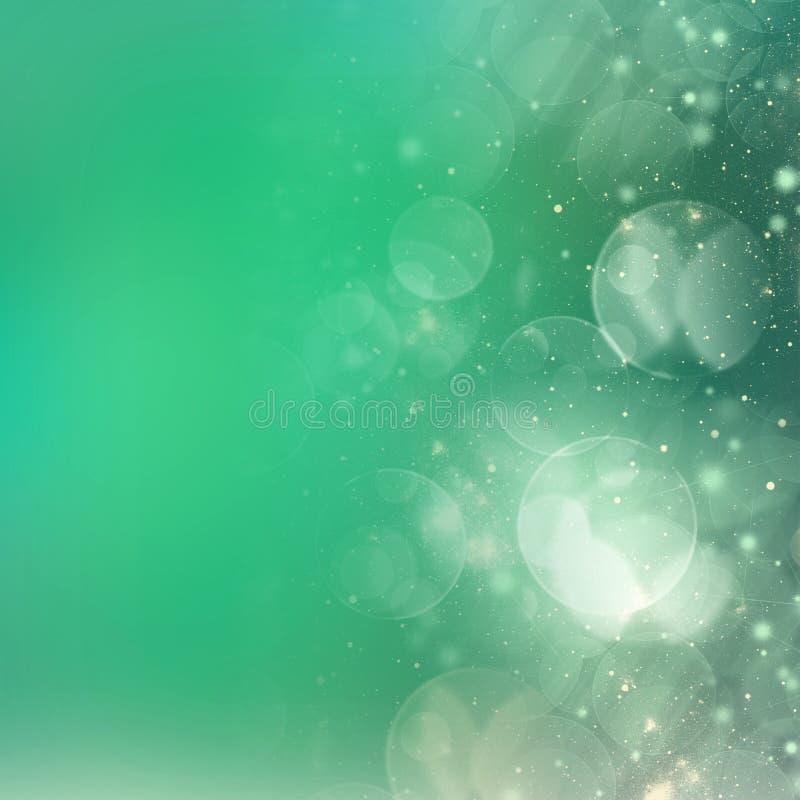 Chrismasachtergrond met fonkelingen vector illustratie