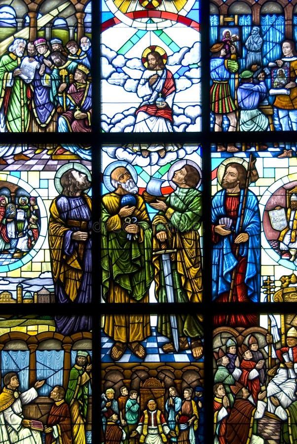 christ поднятый jesus стоковое изображение rf