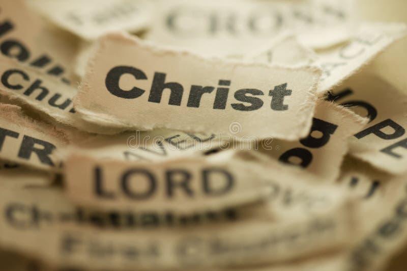 Christ stockfoto