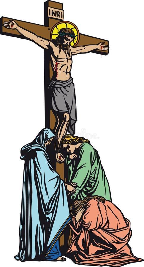Christ ilustração stock