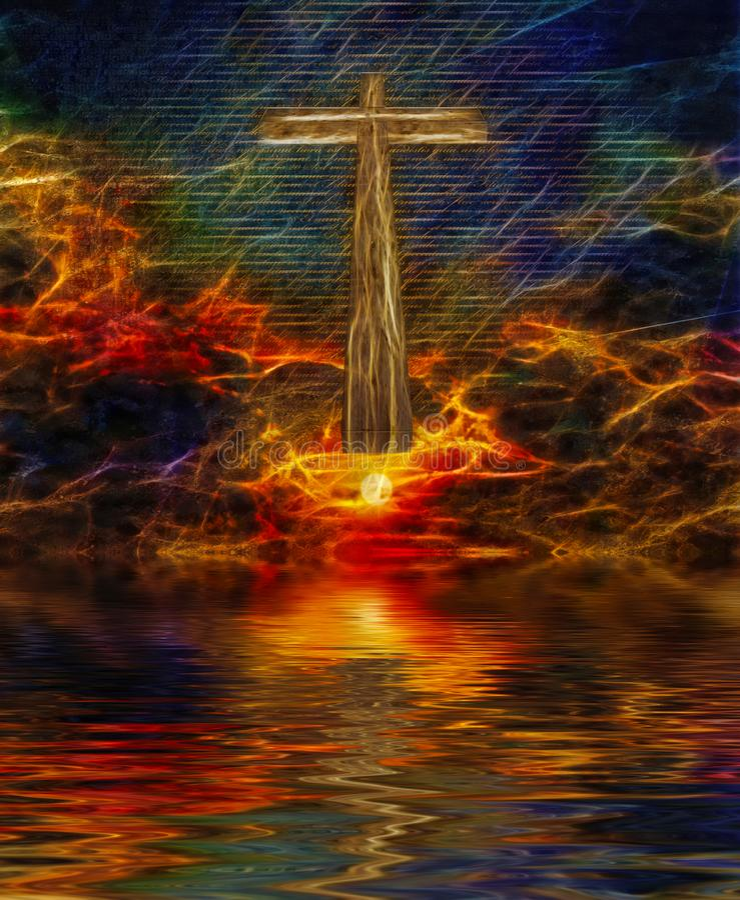 christ royaltyfri illustrationer
