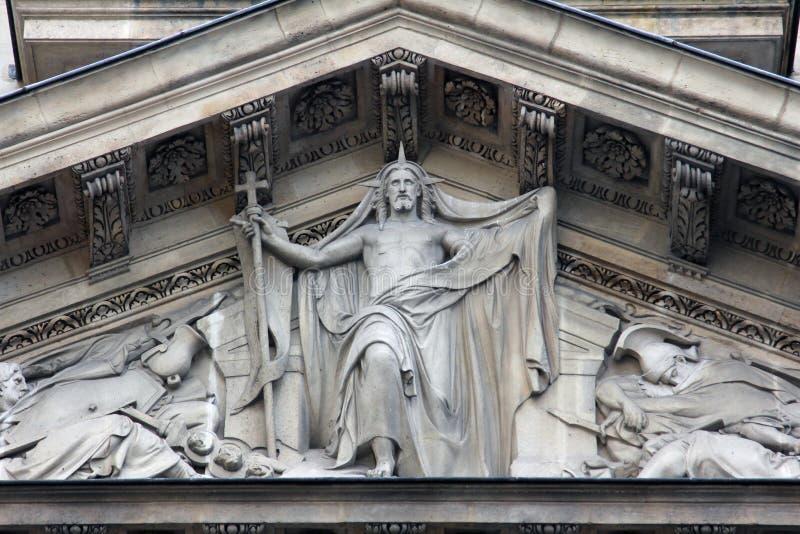 Christ aumentato fotografie stock