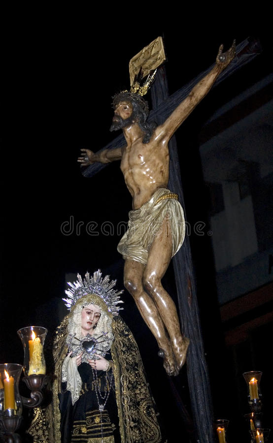 Download Christ Of The Brotherhood Of The Expiration, Holy Stock Image - Image: 14544981