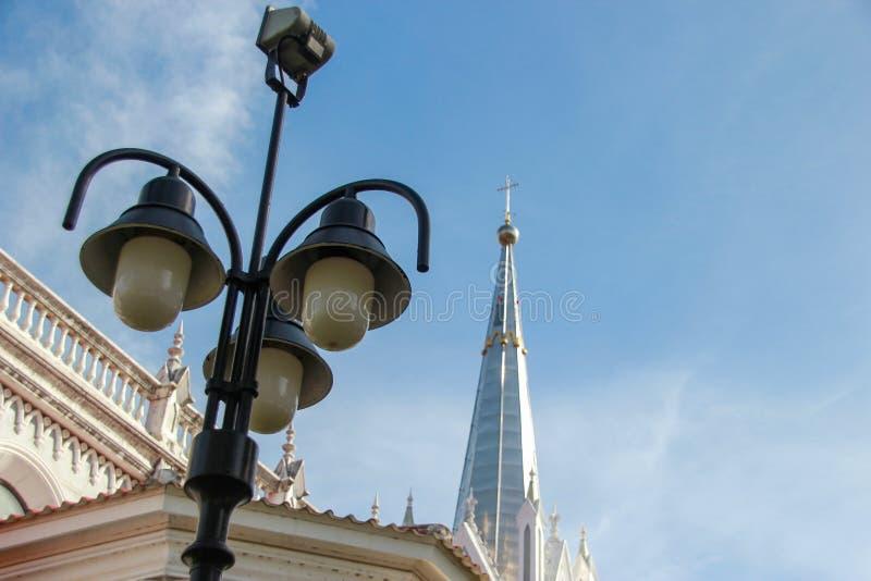 Christ Church Amphawa, Thailand Religion. Christ Church royalty free stock image