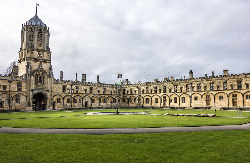 Christ church college in Oxford royalty free stock photo