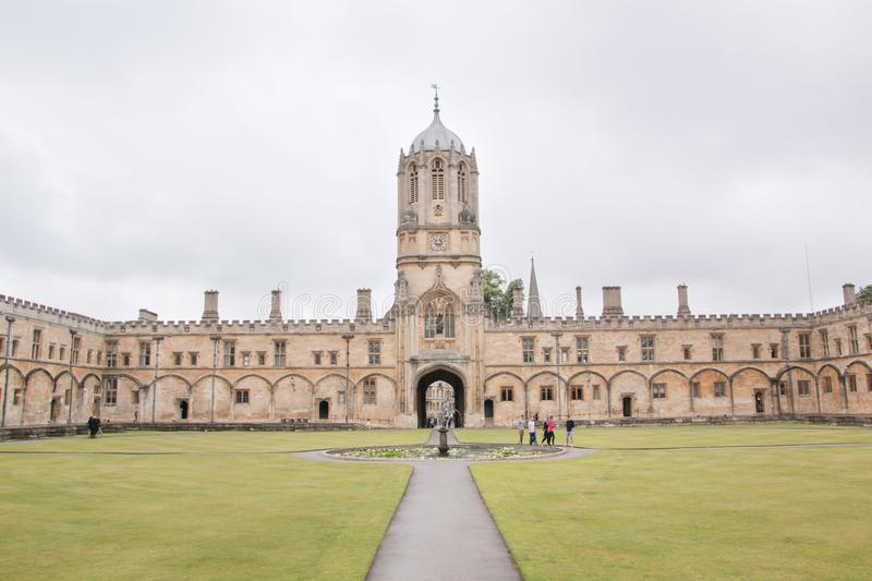 Christ Church College, Oxford University. Christ Church is a constituent college of the University of Oxford in England royalty free stock photos